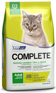 Vital Can Complete Gato Castrado 7,5k + Envio Gratis Ohmydog