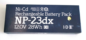 Bateria Recarregavel Camera De Video Sony Idx Np-23dx