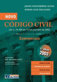 Novo Código Civil Confrontado