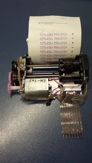 Impressor M-32t Para Calculadora Sharp/olivetti/elgin/casio