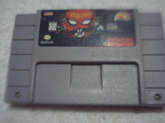 Spiderman Super Nintendo Original