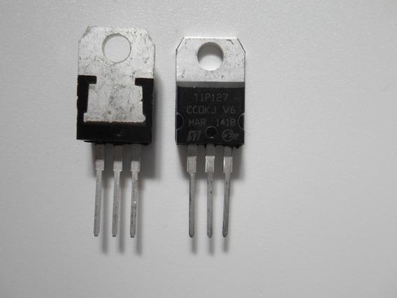 Tip127 - Lote 3 Peças - Transistor Tip 127