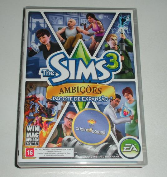 The Sims 3 Ambições ¦ Jogo Pc Original Lacrado ¦ Mídia Físic