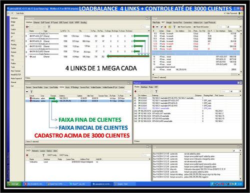 Imagem 1 de 6 de Configuração Mikrotik Loadbalance Pcc De 2 A 4 Links Router