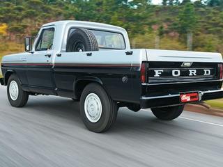 Adesivo Tampa Traseira Ford F100 E F1000