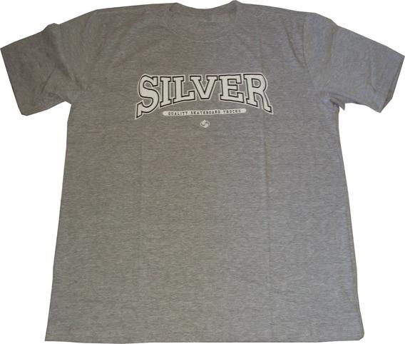Camisa Skate Silver Trucks Compre Uma E Leve Duas