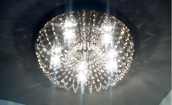 Plafon Cristal Asfour ,quarto,sala Estar E Jantar Ref:952/42