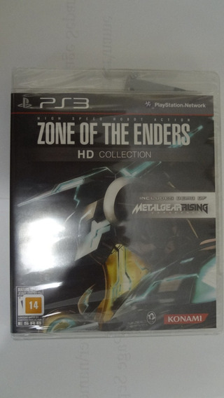 Zone Of The Enders Ps3 Novo E Lacrado