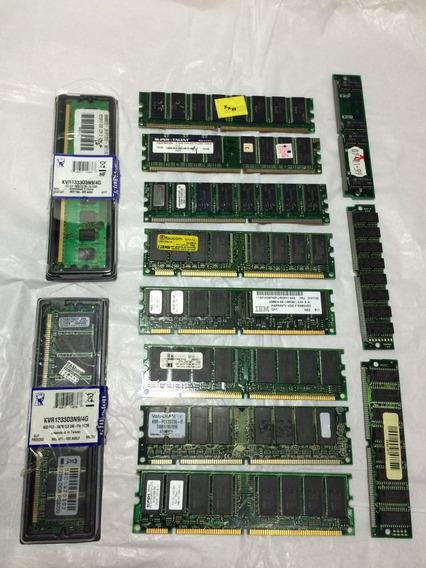 Kit De Memória Computador Com Diversos Tamanhos