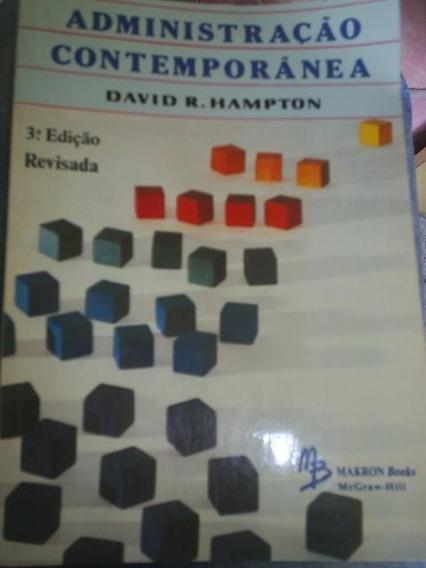 Livro Administração Contemporânea - David R. Hampton (1)