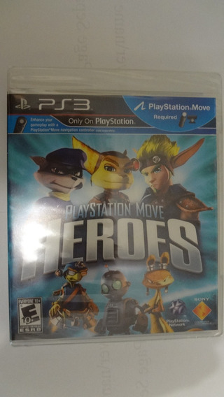 Playstation Move Heroes Para Ps3 Novo E Lacrado