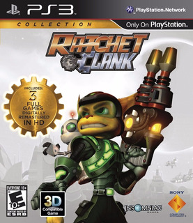 Ratchet & Clank Collection Ps3 Nuevo Fisico Blakhelmet E