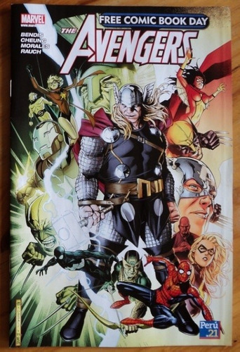 Imagen 1 de 1 de Los Vengadores Free Comic Book Day - Peru 21