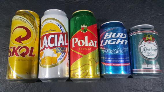 Latas De Cerveza Brasilera