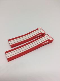 Pulseira Tissot Motogp T-race Vermelha Com Listra