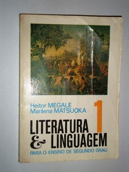Livro Literatura & Linguagem Para O Ensino Do 1º/ 2º Grau -