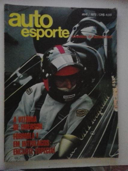 Revista Auto Esporte N° 90 - Abril 1972