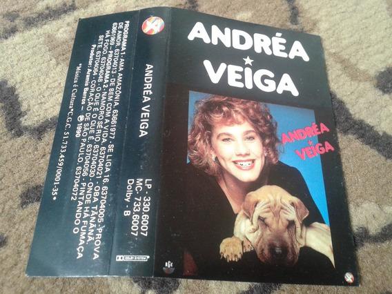 Fita K7 Andréa Veiga - Ama Amazonia Rge 1990 Xuxa Discos