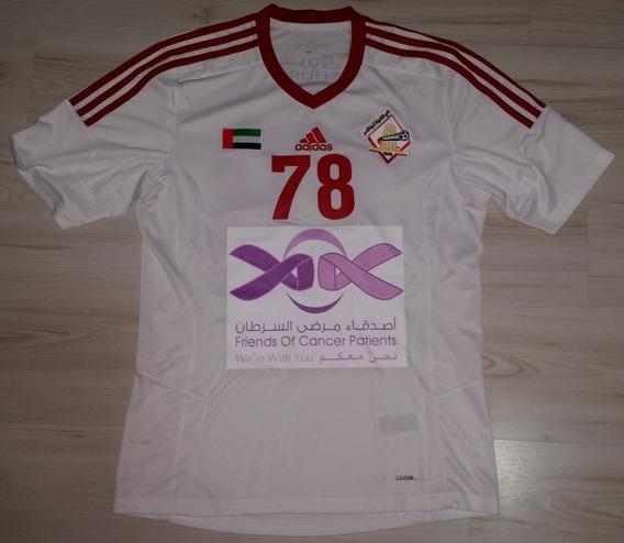 Camisa Jogo Sharjah Fc Emirados Árabes adidas #78 M. Surour