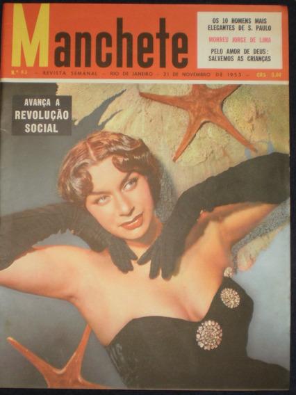 Manchete 1953 Renata Fronzi - São Paulo É O Maior