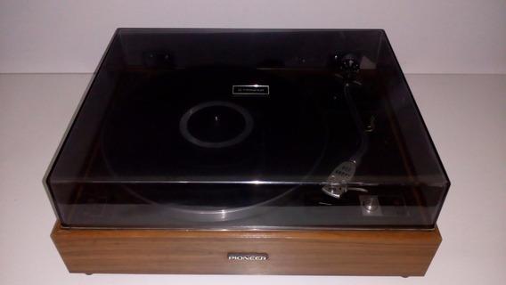 Toca Disco Stereo Pionner Pl-15r Muito Novo! Frete Grátis