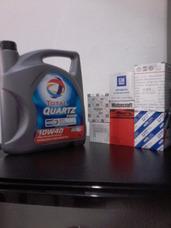 Cambio De Aceite Y Filtro!total Quartz 7000 Semi/ 9000sintet