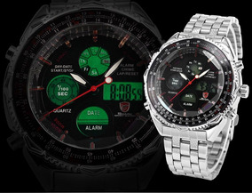 Relógio Black Shark Lcd Digital Frete Gratis