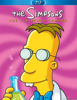 Blu-ray The Simpsons Season 16 / Los Simpson Temporada 16
