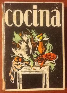 Manual De Cocina Madrid Recetario Tapa Dura Edic. 1969
