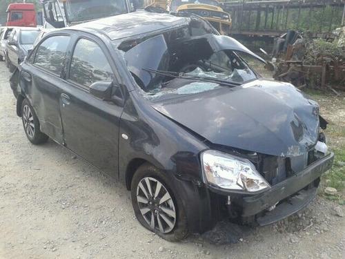 Sucata Toyota Etios Sedan Platinum 1.5 16v(somente Em Peças)