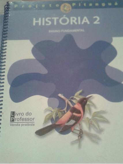 Projeto Pitangua História 2 Livro Do Professor