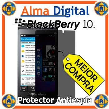 Lamina Protector Pantalla Antiespia Blackberry Z10 10