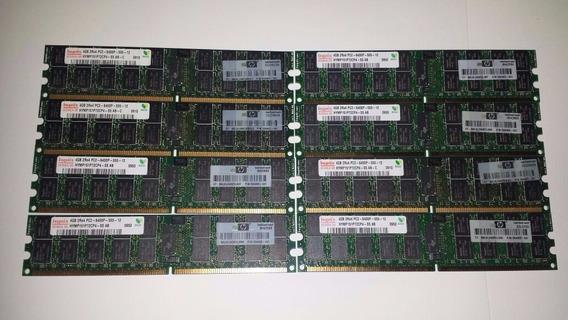 Kit 32gb (8x4gb) Ddr2 Pc2-5300p / Pc2-6400p Ecc Reg T300