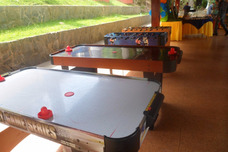 Alquiler De Mesa Futbolito Futbol Hockey Domino Pool Wii