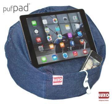 Pufpad - Jeans - Suporte Para Tablets E Celulares