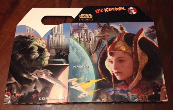 Caja De Star Wars De Carton De Comida Kfc Coleccionable