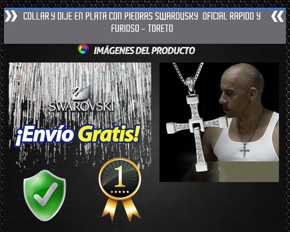 Cruz Cadena Plata Rapido Y Furioso Dominic Toretto