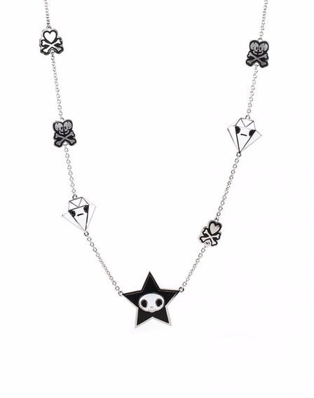 Tokidoki Collar Adios Estrella Cadena Accesorio Joyería Diam