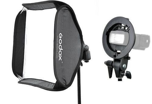 Softbox 60x60 P/ Flash Speedlite / Dedicado Godox