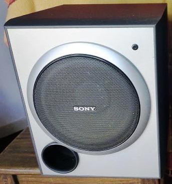 Vendo Caixa Ativa Sony Prata 200w Musical - Sa-wp1500