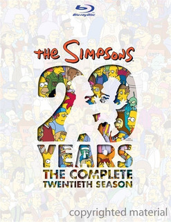 Blu-ray The Simpsons Season 20 / Los Simpson Temporada 20