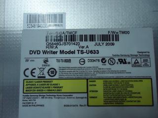 Gravador Dvd Rw Notebook Ts-u633 Slin Sata