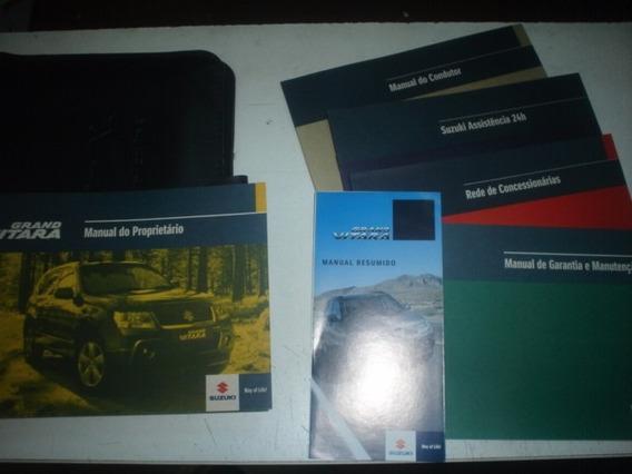 Manual Suzuki Grand Vitara 2009 À 2012 Original Suv Livreto