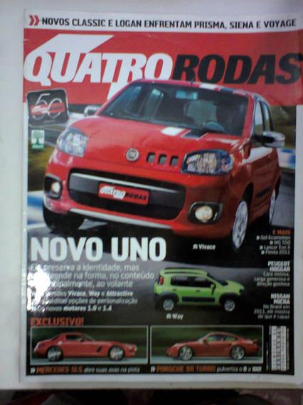 Revista Quatro Rodas N° 604 - Maio 2010 - Frete Grátis