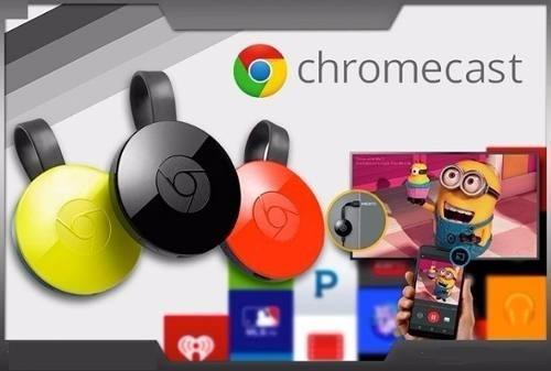 Google Chromecast 2 Streaming Multimidia - Android Tv Box