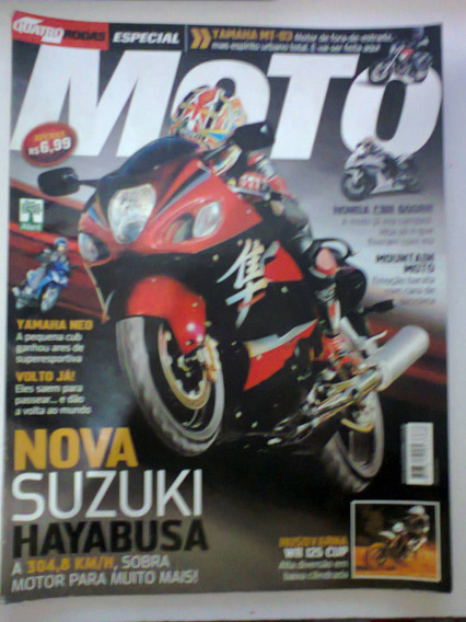 Revista Quatro Rodas Especial Moto N° 566-a - Frete Grátis