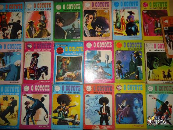 O Coyote Da Editora Monterrey - Faroeste -bolsilivro Mexico