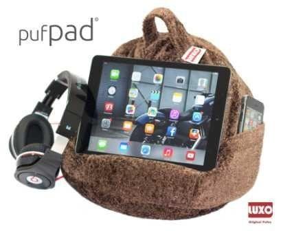 Pufpad - Jackard - Tecido - Suporte Para Eletrônicos E Phone