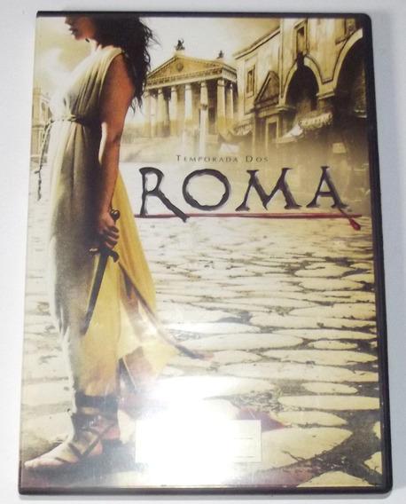 Dvd Roma Temporada 2 Disco 3 Em Espanhol Original Série Hbo