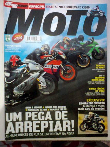 Revista Quatro Rodas Especial Moto N° 603-a - Frete Grátis